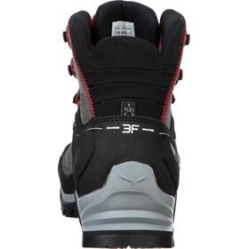 SALEWA MTN Trainer Mid GTX Shoes Herre charcoal/papavero
